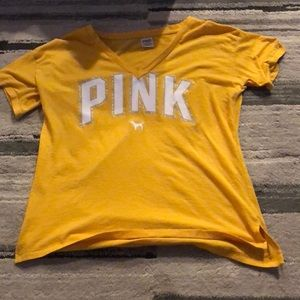 Pink yellow shirt!!!